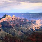 Storm Light on the Grand Canyon by Roupen  Baker