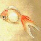 Japanese Goldfish by taiche