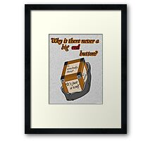 The Moment - Doctor Who Framed Print