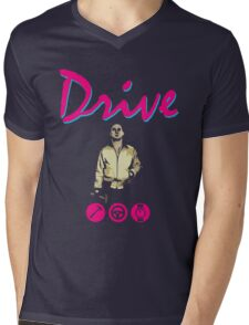 Drive Movie Mens V-Neck T-Shirt