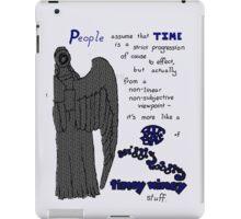 Wibbly Wobbly Timey Wimey iPad Case/Skin