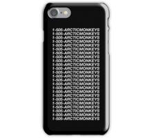 1-505-ARCTICMONKEYS iPhone Case/Skin
