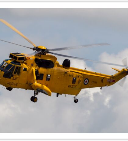 RAF Search and Rescue Seaking Sticker
