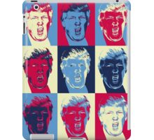 Trump in pop art iPad Case/Skin