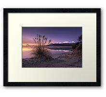 Morning Bliss - New Zealand Framed Print