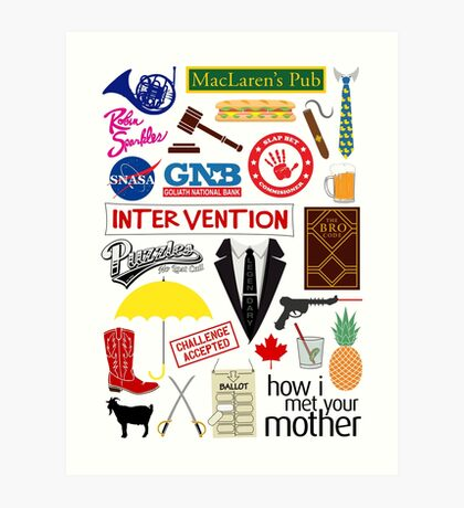 How I Met Your Mother Art Print