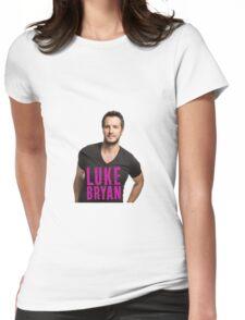 MUSIC STYLE  TSHIRT LUKE BRYAN Womens Fitted T-Shirt