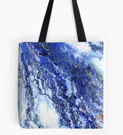 Okavango blue Tote Bag