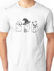 Trick or Treat Ghosts Unisex T-Shirt