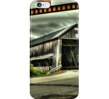 Rusagonis Covered Bridge iPhone Case/Skin