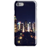 New York City By Night iPhone Case/Skin
