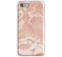Pink Rose Marble iPhone Case/Skin