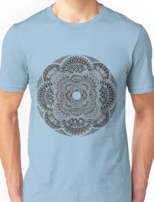Black & White Mandala Unisex T-Shirt