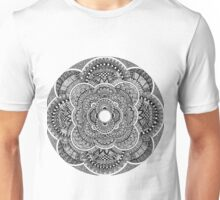 Black & White Mandala Unisex T-Shirt