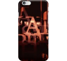 TYPE GRAPHIC iPhone Case/Skin