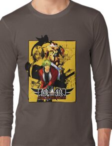 Garou Mark of the Wolves Long Sleeve T-Shirt