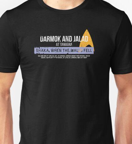Shaka, when the walls fell Unisex T-Shirt