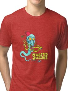 3 Wasted Wishes Tri-blend T-Shirt