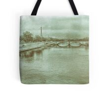 1  ET, Bridge in Analogue Wet Plate   Tote Bag