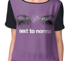 Next to normal Chiffon Top