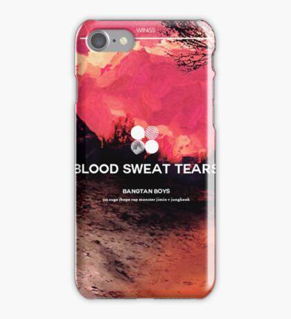 BTS Blood Sweat Tears 4 iPhone Case/Skin