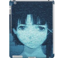 Lain 8bit iPad Case/Skin