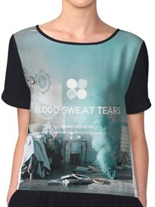 BTS Blood Sweat Tears 6 Chiffon Top