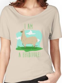 I am a herbivore Women's Relaxed Fit T-Shirt