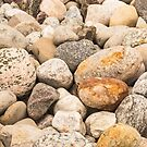 Rocky stones and pebbles by Josef Pittner