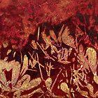 """""""Banksia Shadows 4"""" cushion by Karyn Fendley"""