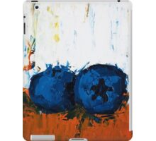 Blueberries on Ice iPad Case/Skin