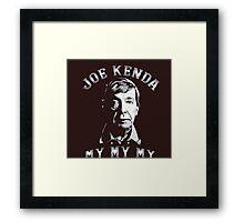 lieutenant kenda Framed Print