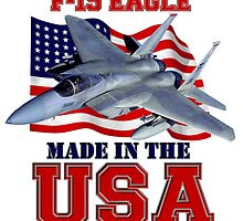 F-15 Eagle Made in the USA by Mil Merchant