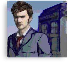 Doctor Who - Tenth Doctor Fan Art Canvas Print