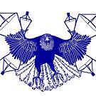 Satellite Eagle - BLUE by gaarte