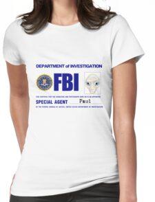 Paul the Alien's FBI ID Womens Fitted T-Shirt
