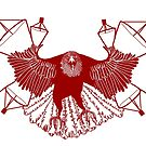 Satellite Eagle - RED by gaarte