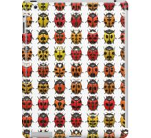 Pattern  with bugs iPad Case/Skin
