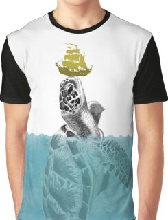 The Giant Sea Turtle  Graphic T-Shirt