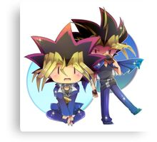 Yugi and Yami Canvas Print