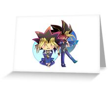 Yugi and Yami Greeting Card