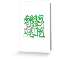 GTA San Andreas -Grove street spray- Greeting Card