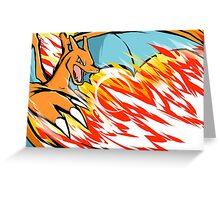 Charizard | Heat Wave Greeting Card