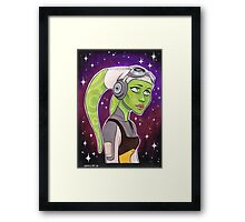 Captain Hera - The Best Pilot in the Rebellion SWR SW Framed Print