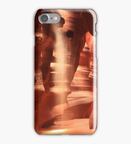 Slot Canyon Lightfall iPhone Case/Skin