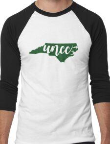 UNC Charlotte, NC Men's Baseball ¾ T-Shirt