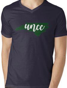 UNC Charlotte, NC Mens V-Neck T-Shirt