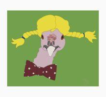 Spunky Turkey Yellow Hair GB Baby Tee