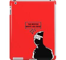 Grandmaster's Assassin  iPad Case/Skin