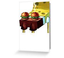 Spongebob's Anaconda Don't Greeting Card